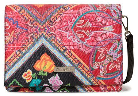 Desigual torebka damska Bols Folklore Cards, czerwona