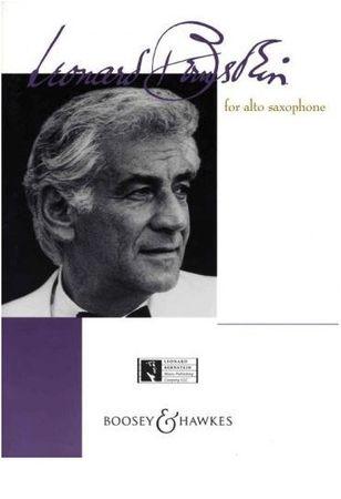 KN Leonard Bernstein for alto saxophone Noty pre altsaxofón