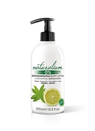 Naturalium Hidratáló testáp, gyógynövényekkel és citrus kivonattal (Skin Nourishing Body Lotion) 370 ml