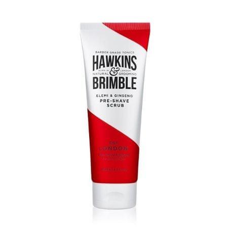 Hawkins & Brimble Łagodny Ścieranie twarzy dla ludzi i zapachu z elemi ginseng (żeń-szeń i Elemi do golenia szorowania