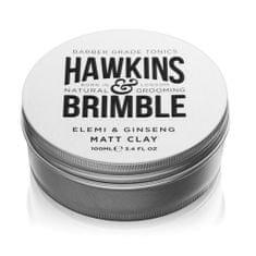 Hawkins & Brimble Mat pomada włosy zapach elemi i żeńszeń (szeń i Elemi Mt gliny) na 100 ml