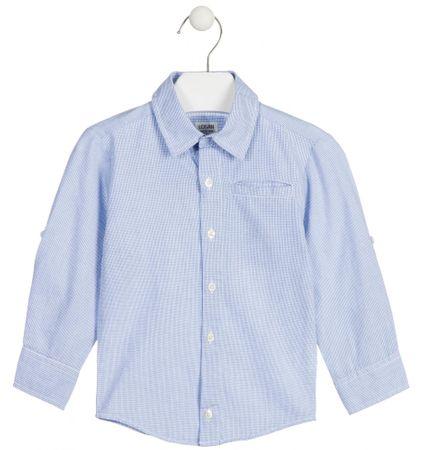 Losan chlapecká košile 92 modrá