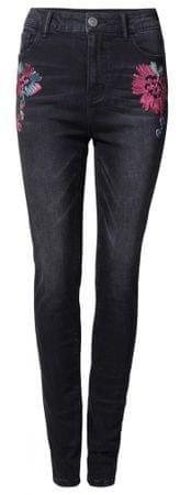 Desigual dámské jeansy Denim Atenas 28 čierna