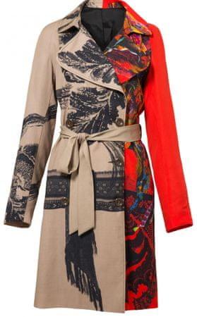 Desigual Abrig Marzo női kabát 36 bézs