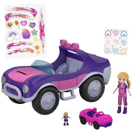 Mattel Polly Pocket - négykerekű