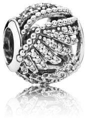 Pandora Ezüst gyöngy, kristályokkal 791749CZ ezüst 925/1000