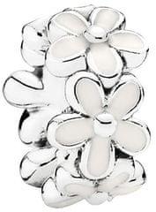 Pandora Srebrna ločilna kroglica Marjetice 791495EN12 srebro 925/1000