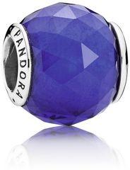 Pandora Brúsený modrý korálku 791722NCB striebro 925/1000
