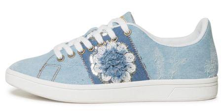 Desigual női tornacipő Shoes Cosmic 36 világoskék