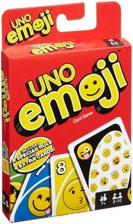 Mattel gra karciana Uno Emoji