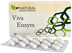 Natural Medicaments Viva Enzym 30 kapslí