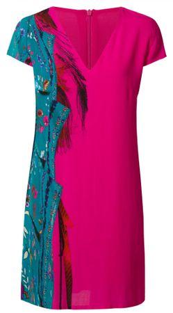 Desigual sukienka damska Vest Waling 36 różowa
