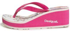 Desigual sandale/japanke s petom Shoes Lola Galact