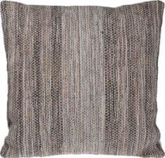 Koopman Dekorační polštář z jutové bavlny 45 x 45 cm