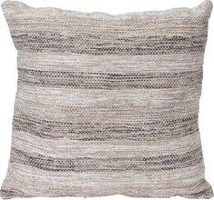 Koopman Dekorační polštář z jutové bavlny 56 x 56 cm