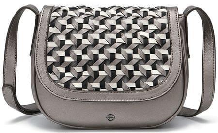 Tamaris ženska torbica za čez rame Myrta, srebrna