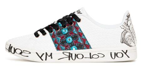 Desigual dámské tenisky Shoes Cosmic Exotic Tro 36 biela