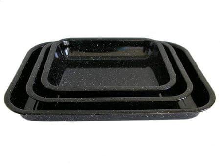 Belis Zománcozott sütő tepsi 34 × 26 × 5 cm
