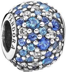 Pandora Korálik s modrými kryštálmi 791261NSBMX striebro 925/1000