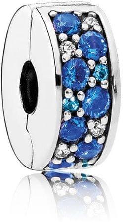 Pandora Csillogó kék korall 791817NSBMX ezüst 925/1000