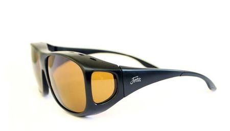 FORTIS EYEWEAR Fortis Polarizační Brýle Overwraps Amber