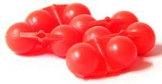 Hell-Cat Hrkálka Scream Balls Red 5 ks