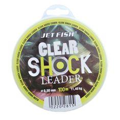 Jet Fish Clear Shock Leader Crystal 100 m