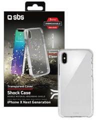 SBS maskica Antishock za iPhone XS Max, prozirna
