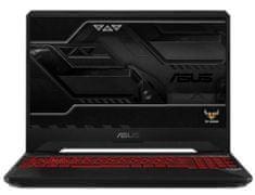 Asus gaming prijenosno računalo TUF Gaming i7-8750H/8GB/SSD256GB+1TB/GTX1050/15,6FHD/FreeDOS (90NR00T2-M03640)