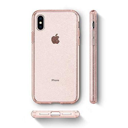Spigen ovitek z bleščicami za iPhone Xs Max, roza