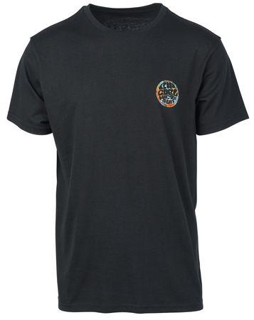 Rip Curl moška majica Rider's Ss Tee, M, črna