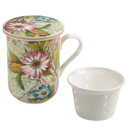 Maxwell & Williams Kilburn Bögre porcelán szűrővel 300 ml Daydream