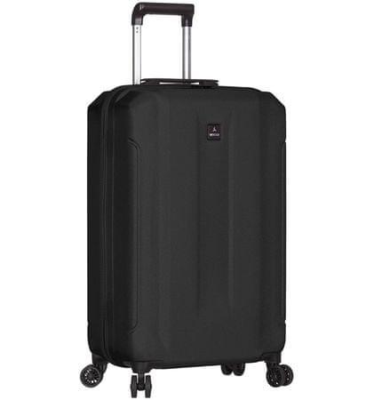 Sirocco Cestovný kufor T-1177/3-S ABS čierna