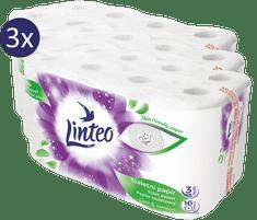 LINTEO papier toaletowy – 3 x 16 szt, 20 m