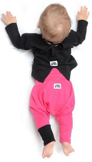 Lamama dívčí tepláčky 98/104 ružová