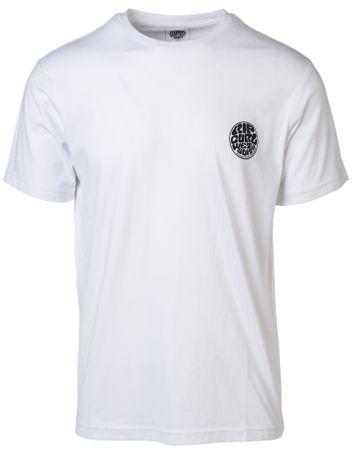 Rip Curl T-shirt męski Original Wetty Ss Tee XL biały