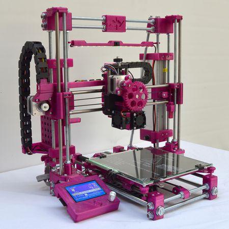 Virtuoso 3D tiskárna - fialová