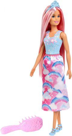 Mattel Hosszú hajú Barbie fésűvel