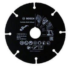 Bosch Dělící kotouč s povrchovou úpravou z tvrdokovu 125 mm