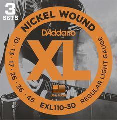 Daddario EXL110-3D Struny na elektrickú gitaru