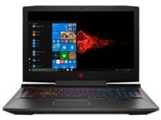 HP gaming prijenosno računalo OMEN 17-an103nm i7-8750H/16GB/SSD256GB+1TB/GTX1070/17,3FHD/W10H (4RQ69EA)