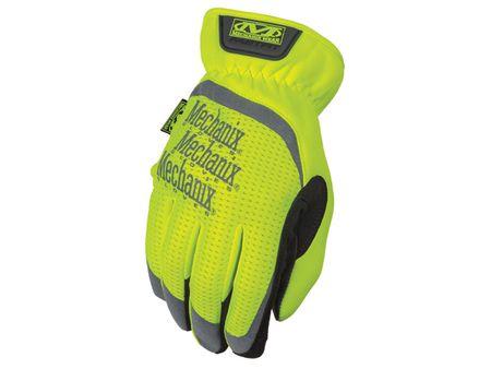 Mechanix Wear Rukavice Safety FastFit - bezpečnostní, žluté reflexní, Velikost: L