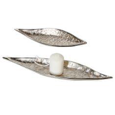 Papillon Dekorativní hliníková mísa Dents, 34 cm
