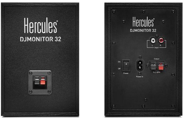 Aktivní reproduktory Hercules DJMonitor 32 nezkreslený zvuk spolupráce s DJ odborníky