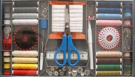 Alzetta set za šivanje Starter box, 98 delni
