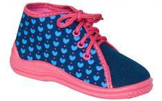 Zetpol Dievčenské papučky Ania - modro-ružové