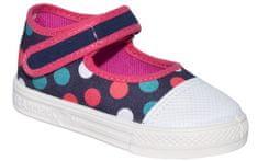 Zetpol Dievčenské bodkované papučky Sara - farebné