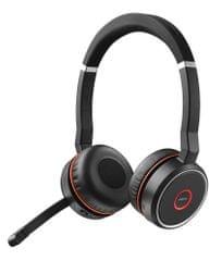Jabra zestaw słuchawkowy Evolve 75, Duo, USB-BT, MS