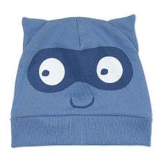 PINOKIO Chlapecká čepice s maskou - modrá