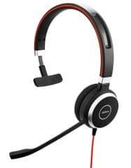 Jabra zestaw słuchawkowy Evolve 40, Mono, USB/Jack, MS